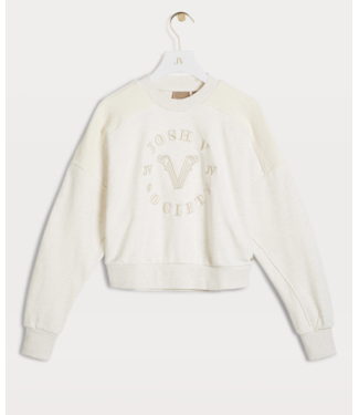 JOSH V Indiana sweater whisper white