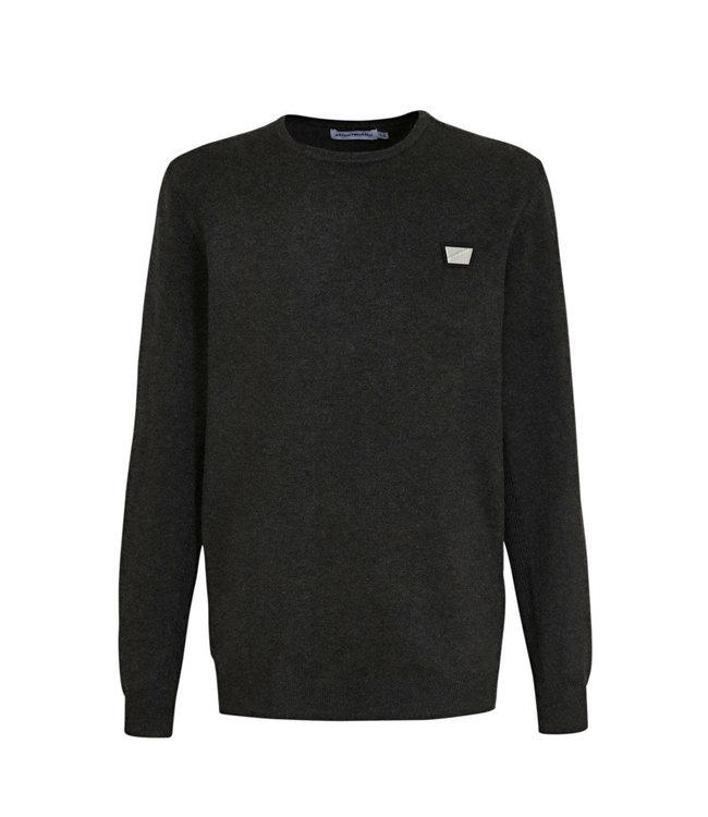 ANTONY MORATO Sweater basic dark grey melange