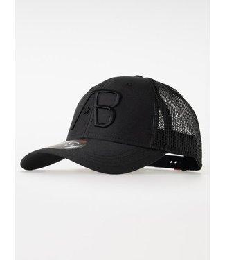 AB LIFESTYLE RETRO TRUCKER CAP BLACK