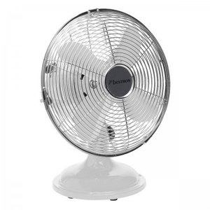 Bestron Bestron DFT25W Retro Tafel ventilator 30cm WH