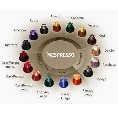Nespresso Nespresso cups 10 Stuks