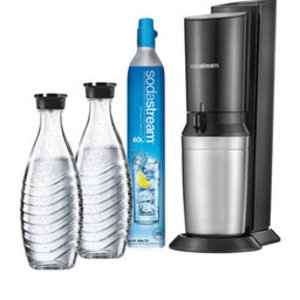 Sodastream Sodastream Crystal Black + 2 karaffen + cilinder