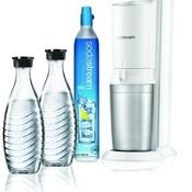 Sodastream Sodastream Crystal White + 2 karaffen + cilinder