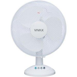Vivax Vivax ventilator FT31T wit, tafel, 3 standen, 30cm