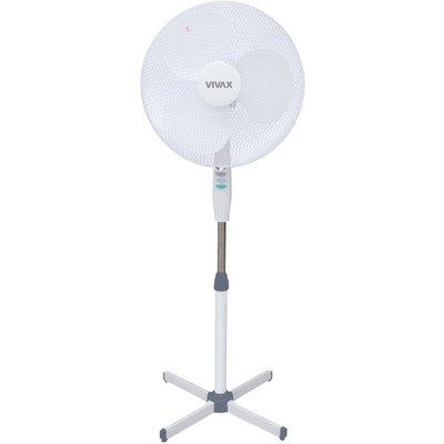 Vivax Vivax ventilator FS41T wit, statief, 3 standen, 40 cm