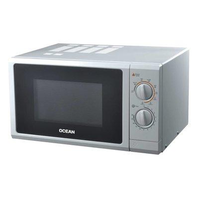 Ocean Ocean OCMW25GS Magnetron 25L mechanisch / grill / zilver / 1000W