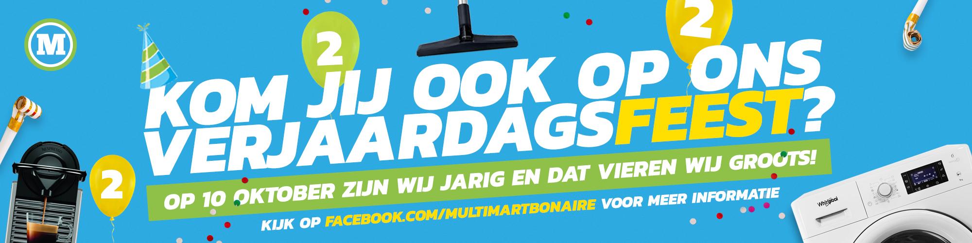 MultiMart is de grootste én goedkoopste aanbieder van 220V/50Hz witgoed en huishoudelijke apparaten op Bonaire banner 2