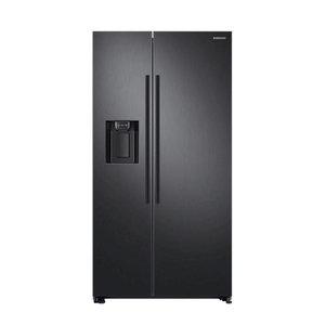 Samsung Amerikaanse koelkast RS67N8211B1/EF, A++, 407L koel/ 202L vries, NoFrost, ijs/water dispenser, Black