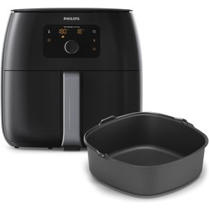 Philips Philips HD9653/90 Philips airfryer 1,4kg,  Twin turbostar technologie, digitaal