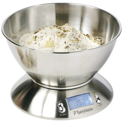 Bestron Bestron DEK4150 Digitale Keukenweegschaal 5KG