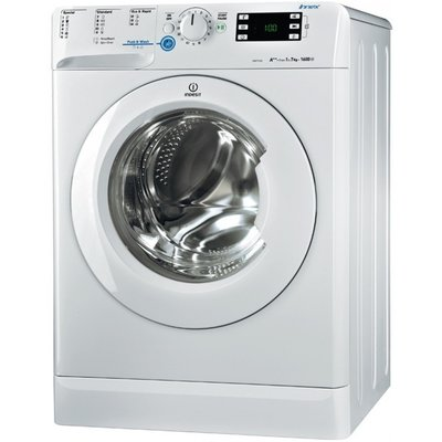 Indesit Indesit wasmachine XWE71683X, A+++, 7kg, 1600T