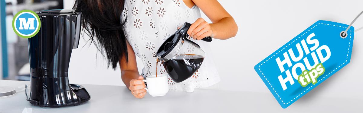Huishoudtips | Koffiezetapparaat schooonmaken