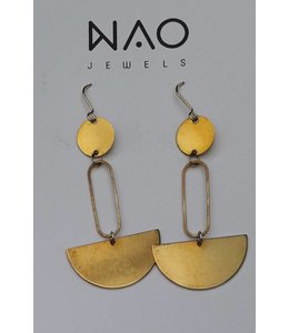 NAO jewels BOUCLES LAITON (serie 15)