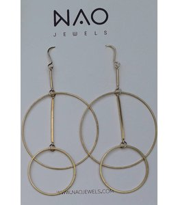 NAO jewels BOUCLES LAITON (serie 16)