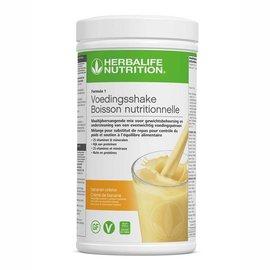 F1 Maaltijdvervangende shake Bananen crème smaak 550 gr- NIEUW!