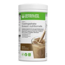 F1 Maaltijdvervangende shake Café Latte smaak 550 gr