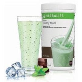 F1 Maaltijdvervangende shake Chocolade Munt smaak 550 gr