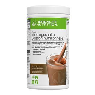 Herbalife Formula 1 Maaltijdvervangende shake F1 Zachte Chocolade 550 gr