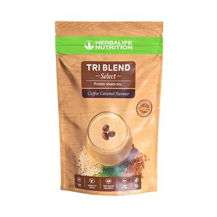 Tri Blend Select Coffee caramel 600 g Proteïneshake