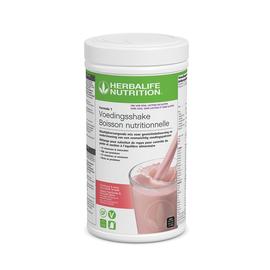 Herbalife F1 Vrij Van - Maaltijdvervangende shake Framboos & Witte chocolade smaak 500 g- NIEUW