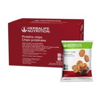 Herbalife Proteïne chips Barbecue smaak 10 zakjes van 30 gr