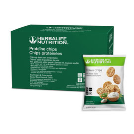 Proteïne chips Sour Cream &Onion smaak -NIEUW