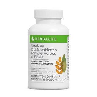 Herbalife Vezels en kruidentabletten 180 tabletten