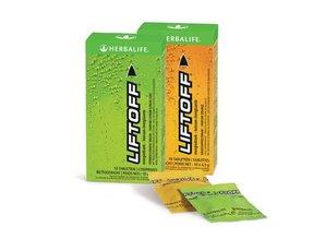 Lift Off verfrissende Energiedrank Citroen- Limoen Doos van 10 bruistabletten