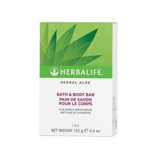 Herbalife Herbal Aloë Bath & Body Bar  1 doosje 125 gr