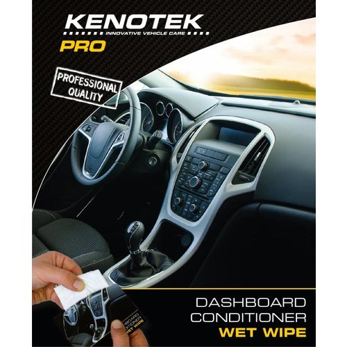 Kenotek WET-WIPES DASHBOARD CONDITIONER