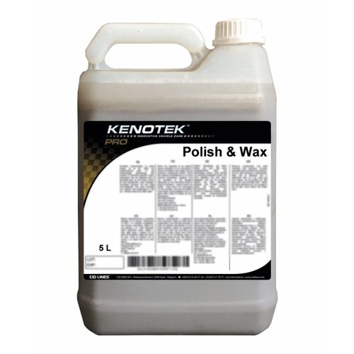 Kenotek POLISH AND WAX 5 L