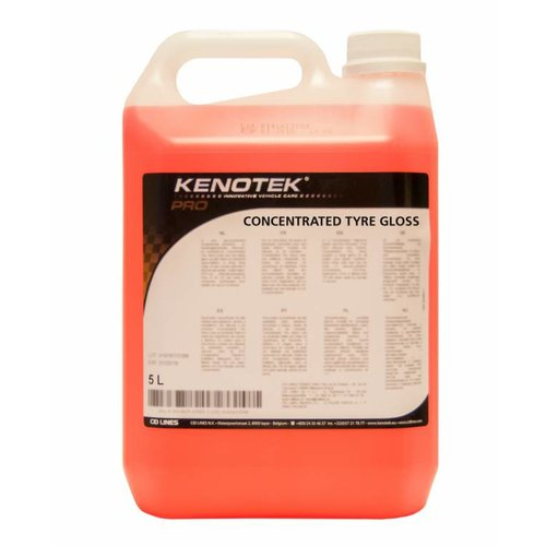 Kenotek CONCENTRATED TYRE GLOSS 5 L