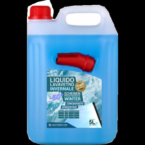 ZP Liquido Lavavetro Invernale -60°C  5L