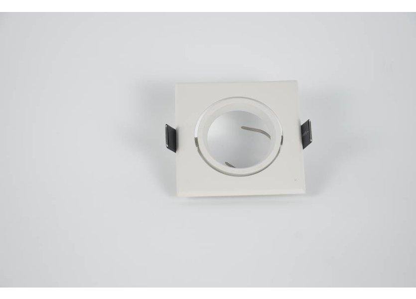LED Inbouwspot Wit Vierkant - Crius