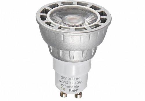 LED spot GU10 5W 3000K Dimbaar