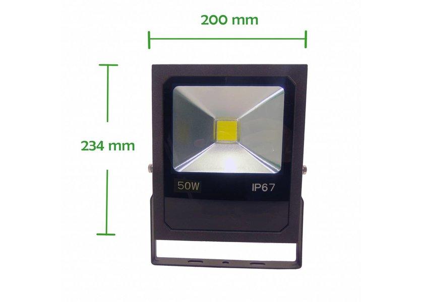 LED Bouwlamp 50 Watt - 4000K - IP67 - Crius