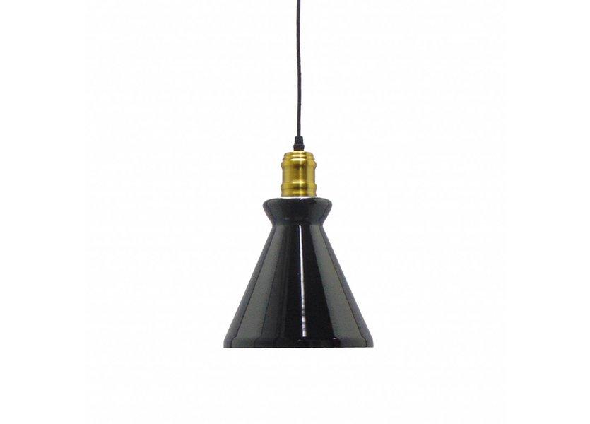 Moderne Zwarte Hanglamp - Valott Kapris