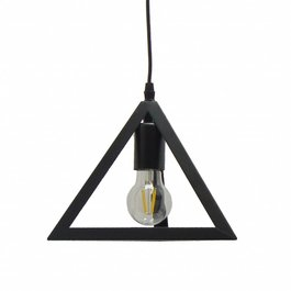 Scaldare Industriële Driehoek Hanglamp Zwart - Scaldare Rolo