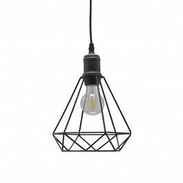 Scaldare Scandinavische Hanglamp Diamant Zwart – Scaldare Noale