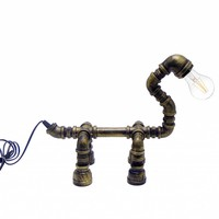 Tafellamp waterleiding hond