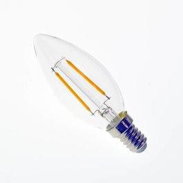 Crius LED filament kaarslamp E14 2W 2700K Dimbaar - Crius