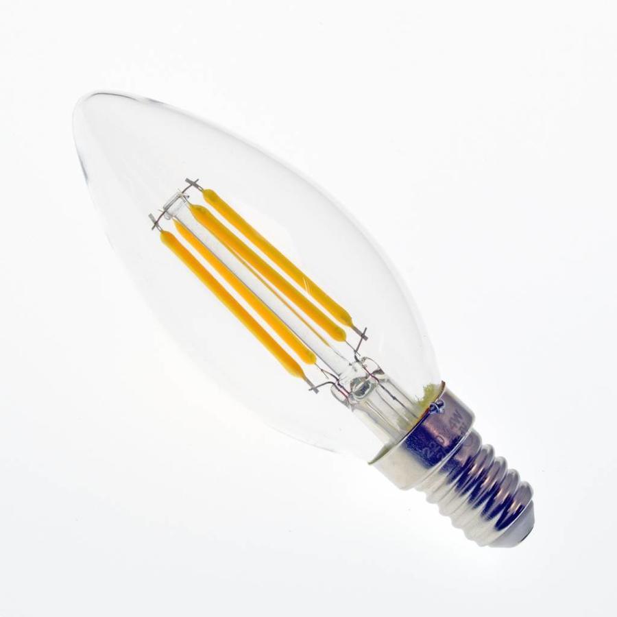 LED filament kaarslamp E14 4W 2700K Dimbaar