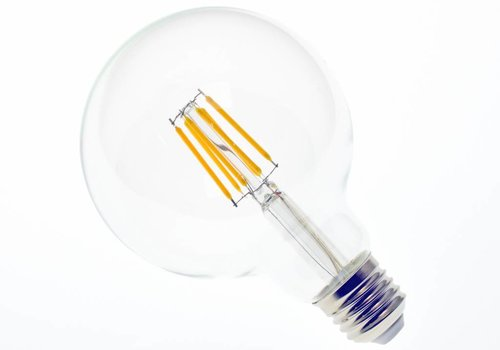 LED filament lamp G95 E27 6 Watt 2700K Dimbaar