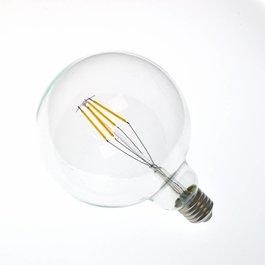 Crius LED filament lamp G125 E27 4 Watt 2700K Dimbaar