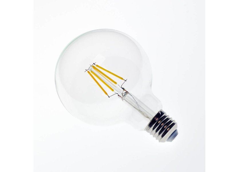 LED filament lamp G95 E27 4 Watt 2700K Dimbaar