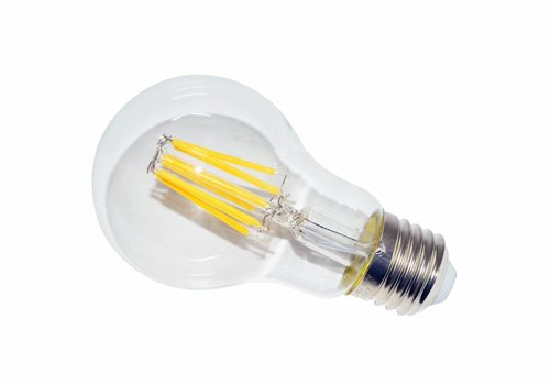 LED filament lamp A60 E27 8 Watt 2700K Dimbaar