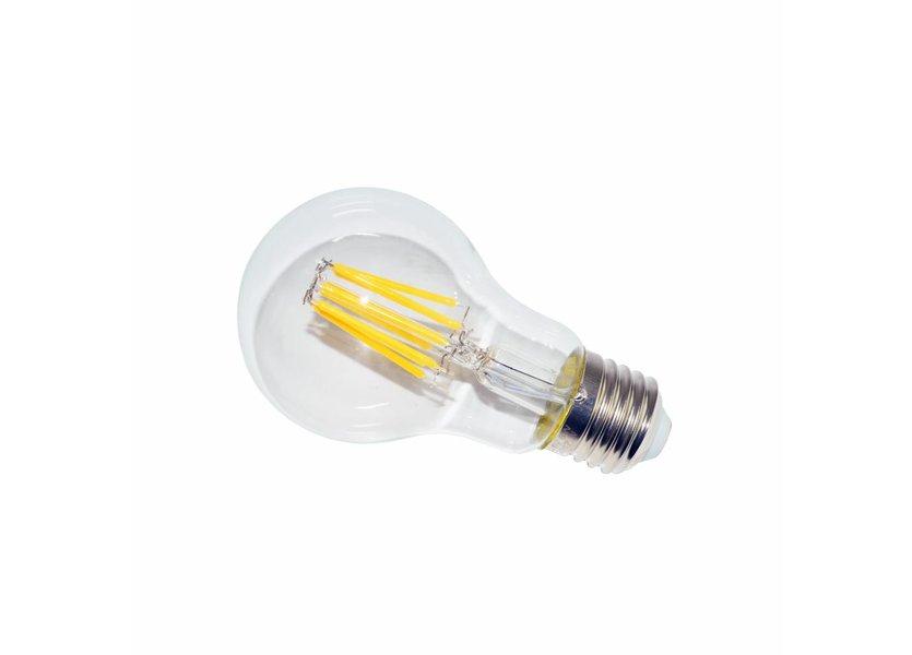LED filament lamp A60 E27 8 Watt 2700K Dimbaar