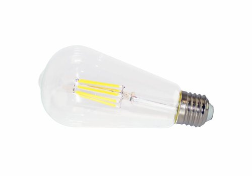 LED filament lamp ST64 E27 6 Watt 2700K Dimbaar