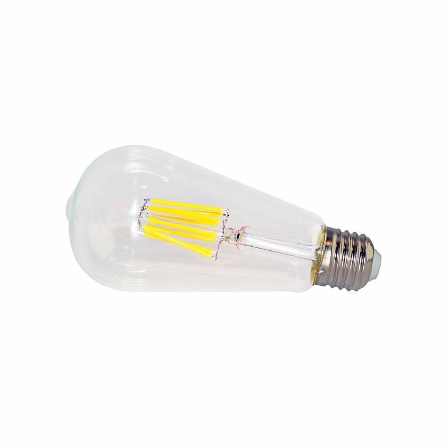 LED filament lamp ST64 E27 8 Watt 2700K Dimbaar