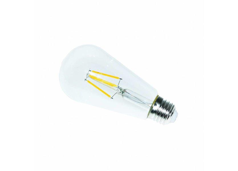 LED filament lamp ST64 E27 4 Watt 2700K Dimbaar - Crius
